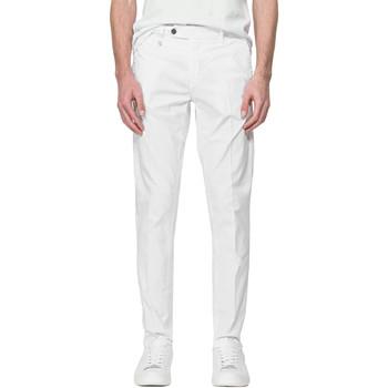 Υφασμάτινα Άνδρας Παντελόνια Chino/Carrot Antony Morato MMTR00496 FA800129 λευκό
