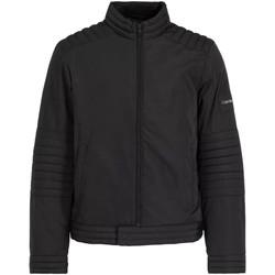 Υφασμάτινα Άνδρας Σπορ Ζακέτες Calvin Klein Jeans K10K104435 Μαύρος