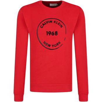 Υφασμάτινα Άνδρας Φούτερ Calvin Klein Jeans K10K104548 το κόκκινο