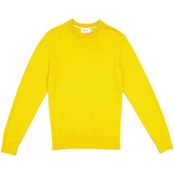 Υφασμάτινα Άνδρας Πουλόβερ Calvin Klein Jeans K10K104068 Κίτρινος
