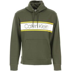 Υφασμάτινα Άνδρας Φούτερ Calvin Klein Jeans K10K104401 Πράσινος