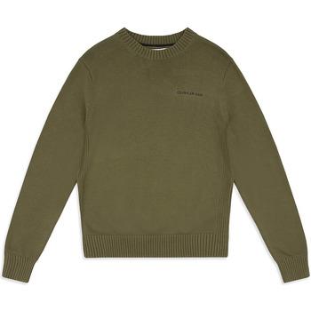 Υφασμάτινα Άνδρας Πουλόβερ Calvin Klein Jeans J30J313480 Πράσινος