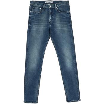 Υφασμάτινα Άνδρας Τζιν σε ίσια γραμμή Calvin Klein Jeans J30J312353 Μπλε