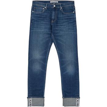 Υφασμάτινα Άνδρας Τζιν σε ίσια γραμμή Calvin Klein Jeans J30J312361 Μπλε