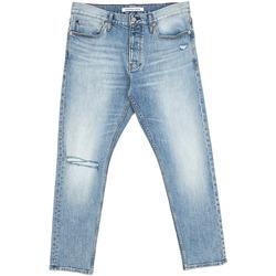 Υφασμάτινα Άνδρας Τζιν σε ίσια γραμμή Calvin Klein Jeans J30J312380 Μπλε