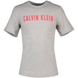 Υφασμάτινα Άνδρας T-shirt με κοντά μανίκια Calvin Klein Jeans 00GMF8K160 Γκρί
