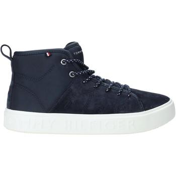 Παπούτσια Άνδρας Ψηλά Sneakers Tommy Hilfiger FM0FM02393 Μπλε