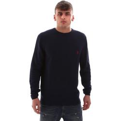 Υφασμάτινα Άνδρας Πουλόβερ U.S Polo Assn. 52470 52612 Μπλε