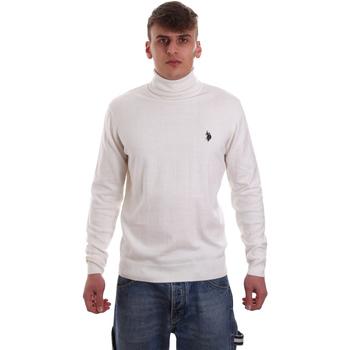 Υφασμάτινα Άνδρας Πουλόβερ U.S Polo Assn. 52484 48847 λευκό