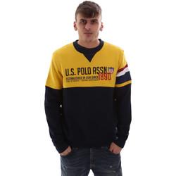 Υφασμάτινα Άνδρας Φούτερ U.S Polo Assn. 52522 49151 Κίτρινος