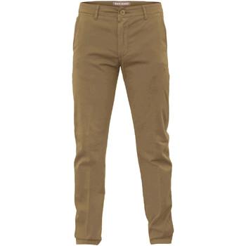 Υφασμάτινα Άνδρας Παντελόνια Chino/Carrot Navigare NV53079 καφέ