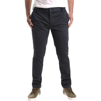 Υφασμάτινα Άνδρας Παντελόνια Chino/Carrot Gaudi 921FU24001 Μαύρος