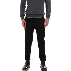 Υφασμάτινα Άνδρας Παντελόνια Chino/Carrot Gaudi 921FU24002 Μαύρος