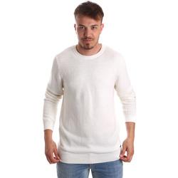 Υφασμάτινα Άνδρας Πουλόβερ Gaudi 921FU53020 λευκό