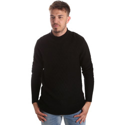 Υφασμάτινα Άνδρας Πουλόβερ Gaudi 921FU53025 Μαύρος