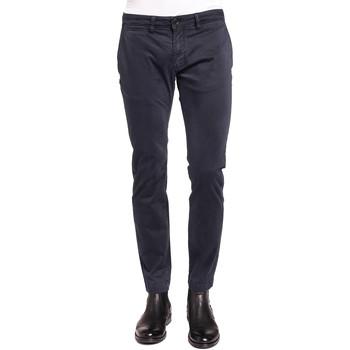 Υφασμάτινα Άνδρας Παντελόνια Chino/Carrot Gaudi 921BU25008 Μπλε
