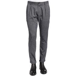 Υφασμάτινα Άνδρας Παντελόνια κοστουμιού Gaudi 921BU25018 Μαύρος