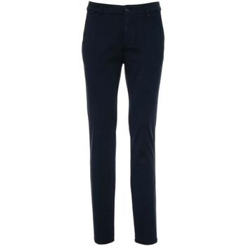 Υφασμάτινα Άνδρας Παντελόνια Chino/Carrot NeroGiardini A970540U Μπλε