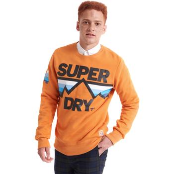Υφασμάτινα Άνδρας Φούτερ Superdry M2000012A Πορτοκάλι