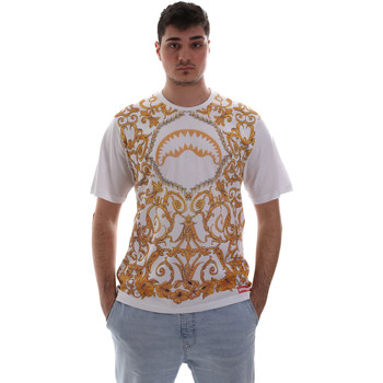 Υφασμάτινα Άνδρας T-shirt με κοντά μανίκια Sprayground SP019S λευκό