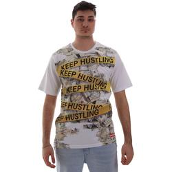 Υφασμάτινα Άνδρας T-shirt με κοντά μανίκια Sprayground SP017S λευκό