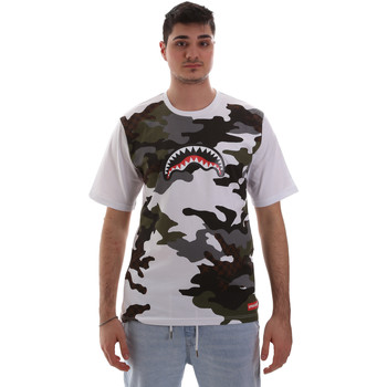 Υφασμάτινα Άνδρας T-shirt με κοντά μανίκια Sprayground SP023S λευκό