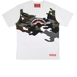 Υφασμάτινα Άνδρας T-shirt με κοντά μανίκια Sprayground SP022S λευκό