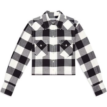 Υφασμάτινα Γυναίκα Πουκάμισα Calvin Klein Jeans J20J212123 Μαύρος