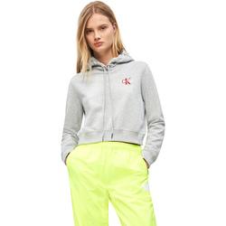 Υφασμάτινα Γυναίκα Φούτερ Calvin Klein Jeans J20J210601 Γκρί