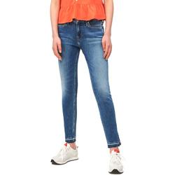Υφασμάτινα Γυναίκα Skinny Τζιν  Calvin Klein Jeans J20J211434 Μπλε