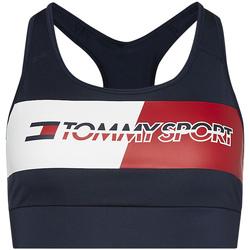 Υφασμάτινα Γυναίκα Αθλητικά μπουστάκια  Tommy Hilfiger S10S100299 Μπλε