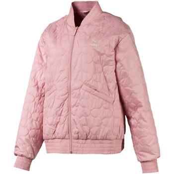 Υφασμάτινα Γυναίκα Μπουφάν Puma 595247 Ροζ