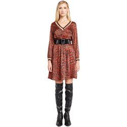 Υφασμάτινα Γυναίκα Κοντά Φορέματα Denny Rose 921ND15008 το κόκκινο