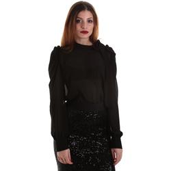 Υφασμάτινα Γυναίκα Μπλούζες Denny Rose 921ND45001 Μαύρος