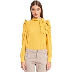 Υφασμάτινα Γυναίκα Μπλούζες Denny Rose 921ND45001 Κίτρινος
