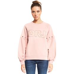 Υφασμάτινα Γυναίκα Φούτερ Denny Rose 921ND64018 Ροζ