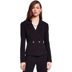 Υφασμάτινα Γυναίκα Σακάκι / Blazers Gaudi 921FD35009 Μαύρος