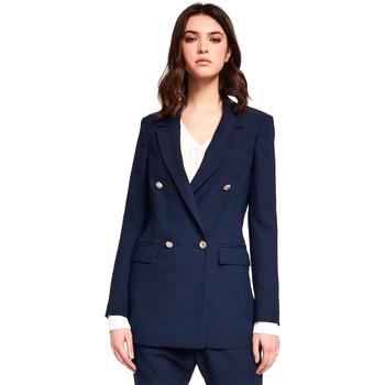 Υφασμάτινα Γυναίκα Σακάκι / Blazers Gaudi 921FD35035 Μπλε