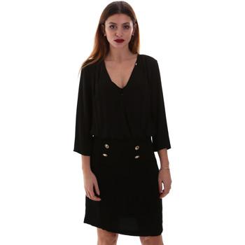 Υφασμάτινα Γυναίκα Κοντά Φορέματα Gaudi 921FD15037 Μαύρος