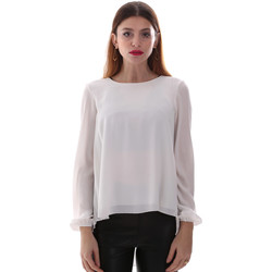 Υφασμάτινα Γυναίκα Πουκάμισα Gaudi 921BD45023 λευκό