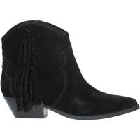Παπούτσια Γυναίκα Μποτίνια Guess FL8NAM SUE10 Μαύρος