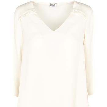 Υφασμάτινα Γυναίκα Μπλούζες Liu Jo W69064 T5630 Μπεζ