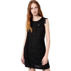 Υφασμάτινα Γυναίκα Κοντά Φορέματα Liu Jo W69330 T4080 Μαύρος
