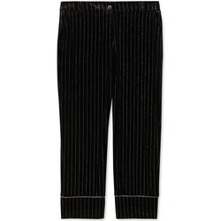 Υφασμάτινα Γυναίκα Παντελόνια κοστουμιού Liu Jo F69250 T4097 Μαύρος