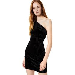 Υφασμάτινα Γυναίκα Κοντά Φορέματα Liu Jo F69289 T4097 Μαύρος