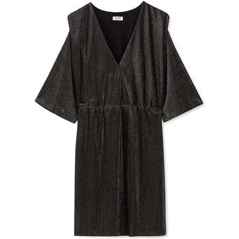 Υφασμάτινα Γυναίκα Κοντά Φορέματα Liu Jo F69392 J5828 Μαύρος