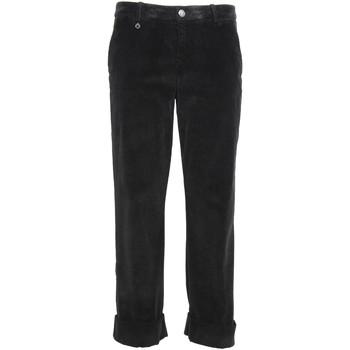 Υφασμάτινα Γυναίκα Παντελόνια Chino/Carrot NeroGiardini A960730D Μαύρος