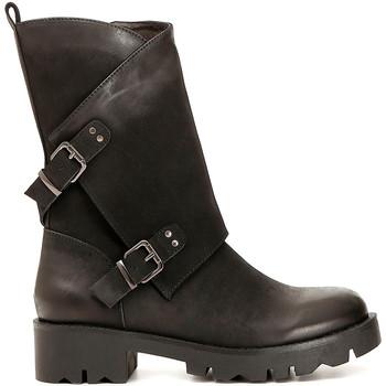 Παπούτσια Γυναίκα Μπότες για την πόλη Café Noir FE954 Μαύρος