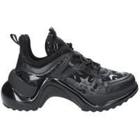 Παπούτσια Γυναίκα Χαμηλά Sneakers Studio Italia LOVE01 Μαύρος