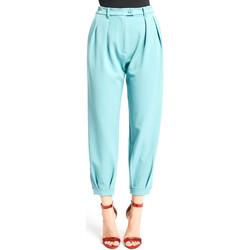 Υφασμάτινα Γυναίκα Παντελόνια Chino/Carrot Denny Rose 921DD20008 Μπλε